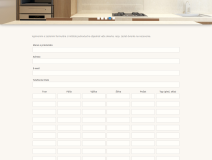 Objednávkový formulár